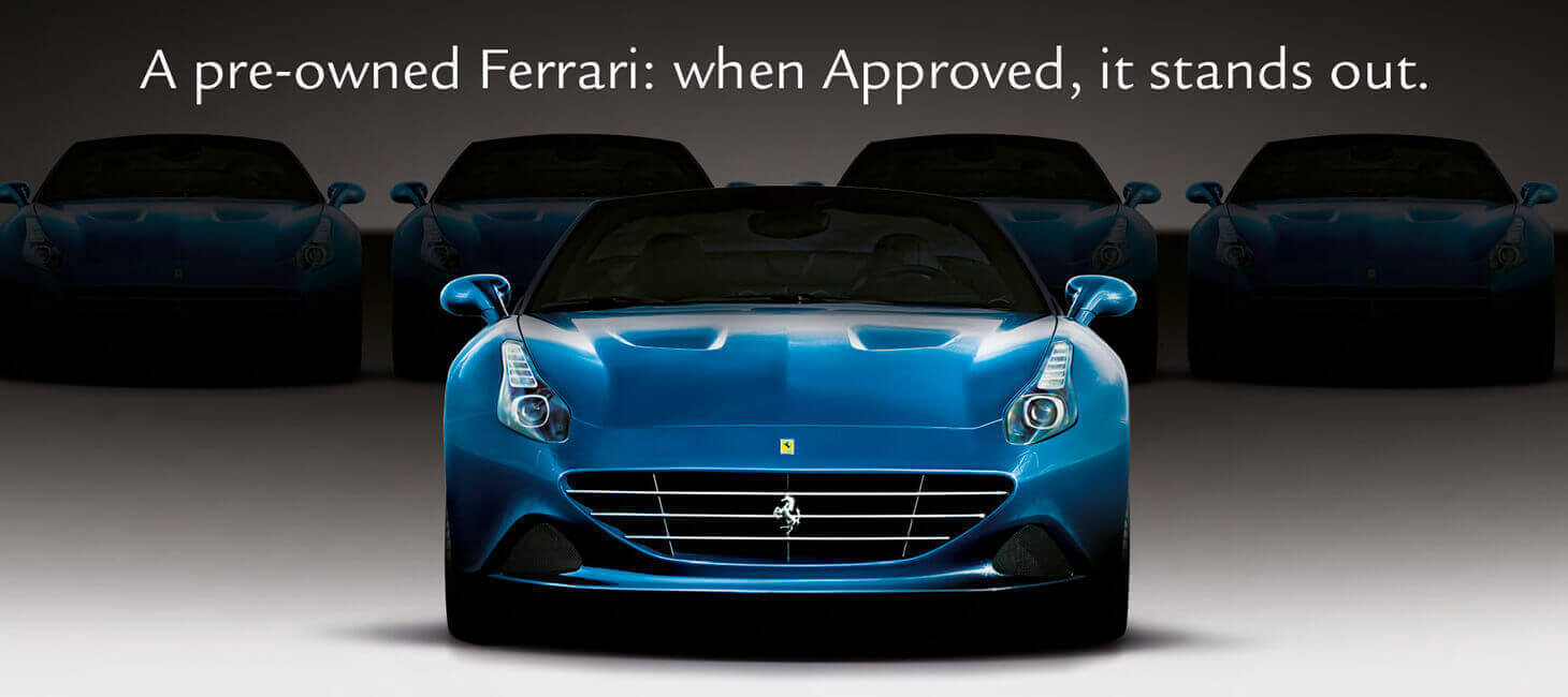 Approved by Ferrari