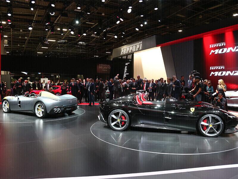 Ferrari Monza SP1 und SP2
